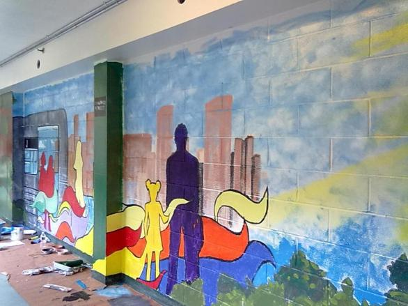 Collaboration at Salvation Army Housing Bushwick, Brooklyn