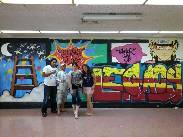 ellis prep class of 2013 muralists