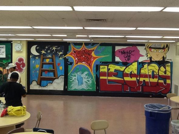 ellis prep academy mural