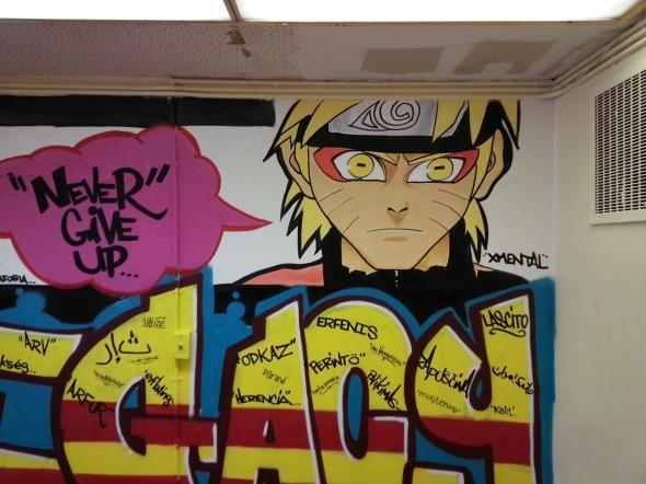 naruto mural