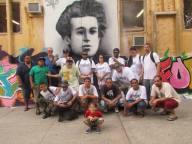 Gramsci Monument Installation, Bronx