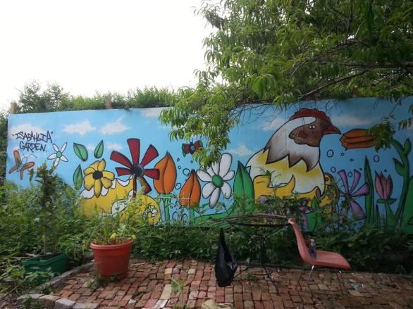 Izabahlia Community Garden, Brownsville, Brooklyn