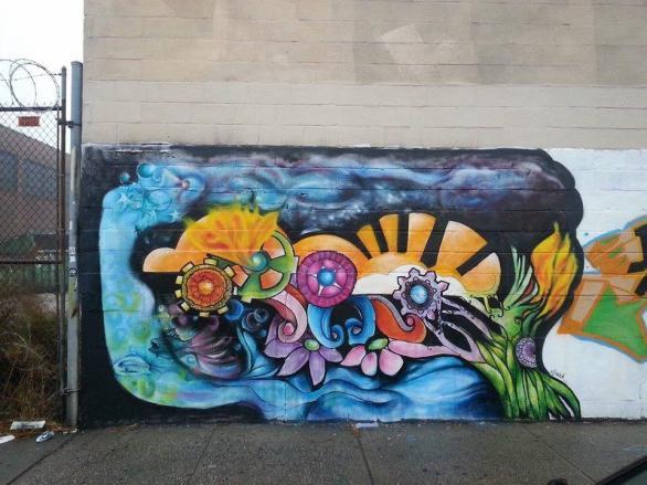 Halsey Street Dreamway, Bushwick