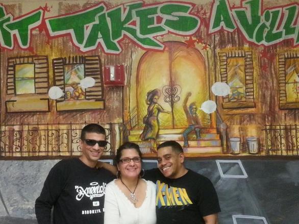 Bronx Family Court Mural