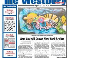 Westbury times pg. 1